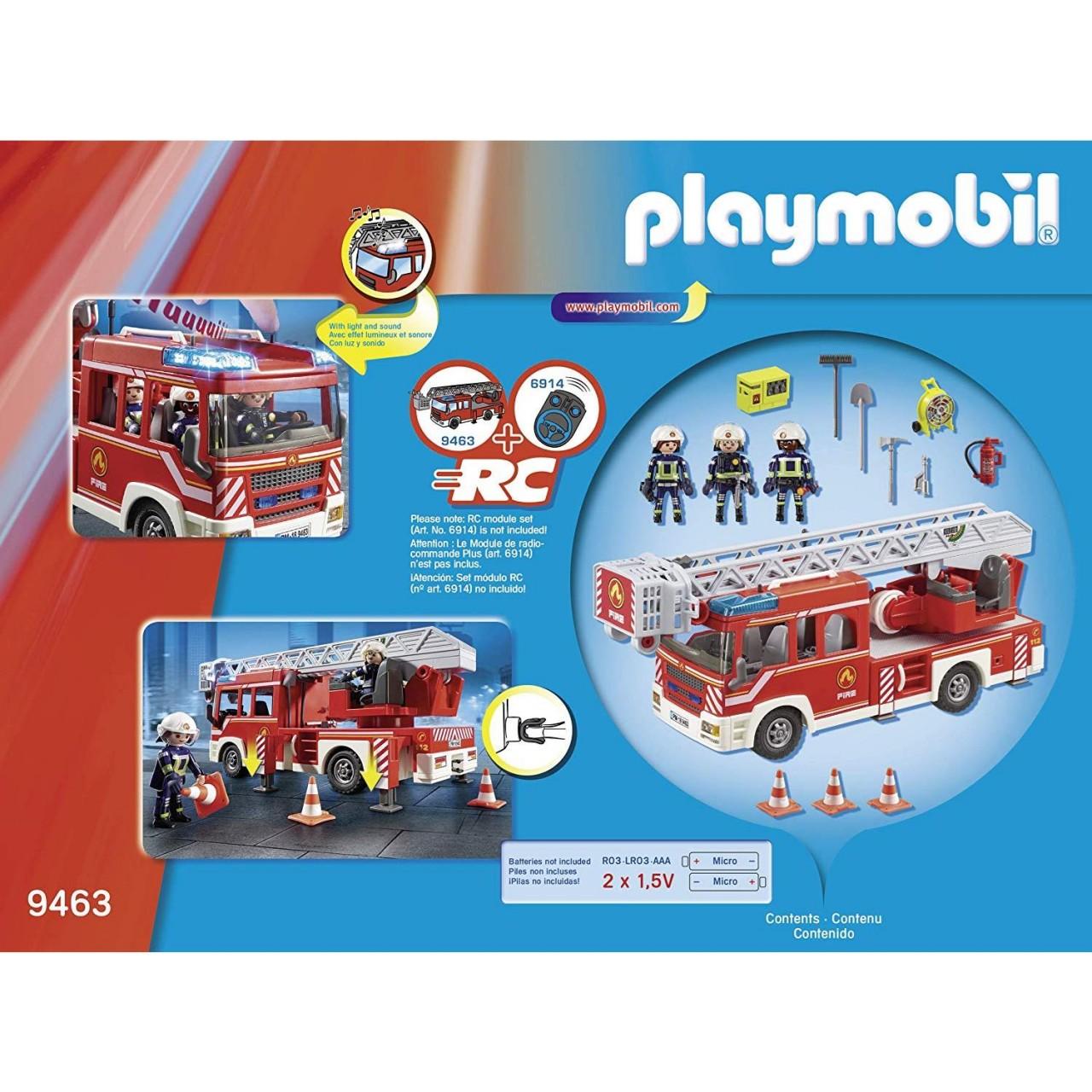 Playmobil 9463 Feuerwehr-Leiterfahrzeug