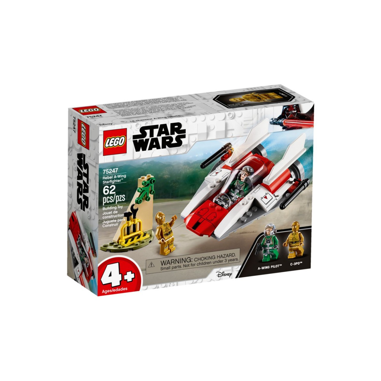 LEGO STAR WARS 75247 Rebel A-Wing Starfighter