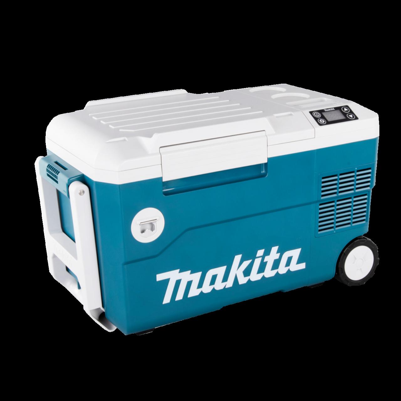 Makita DCW180Z mobile Akku-Kühl und Wärmebox 18V, 12V/24V KFZ, 230V, -18° C bis +60° C