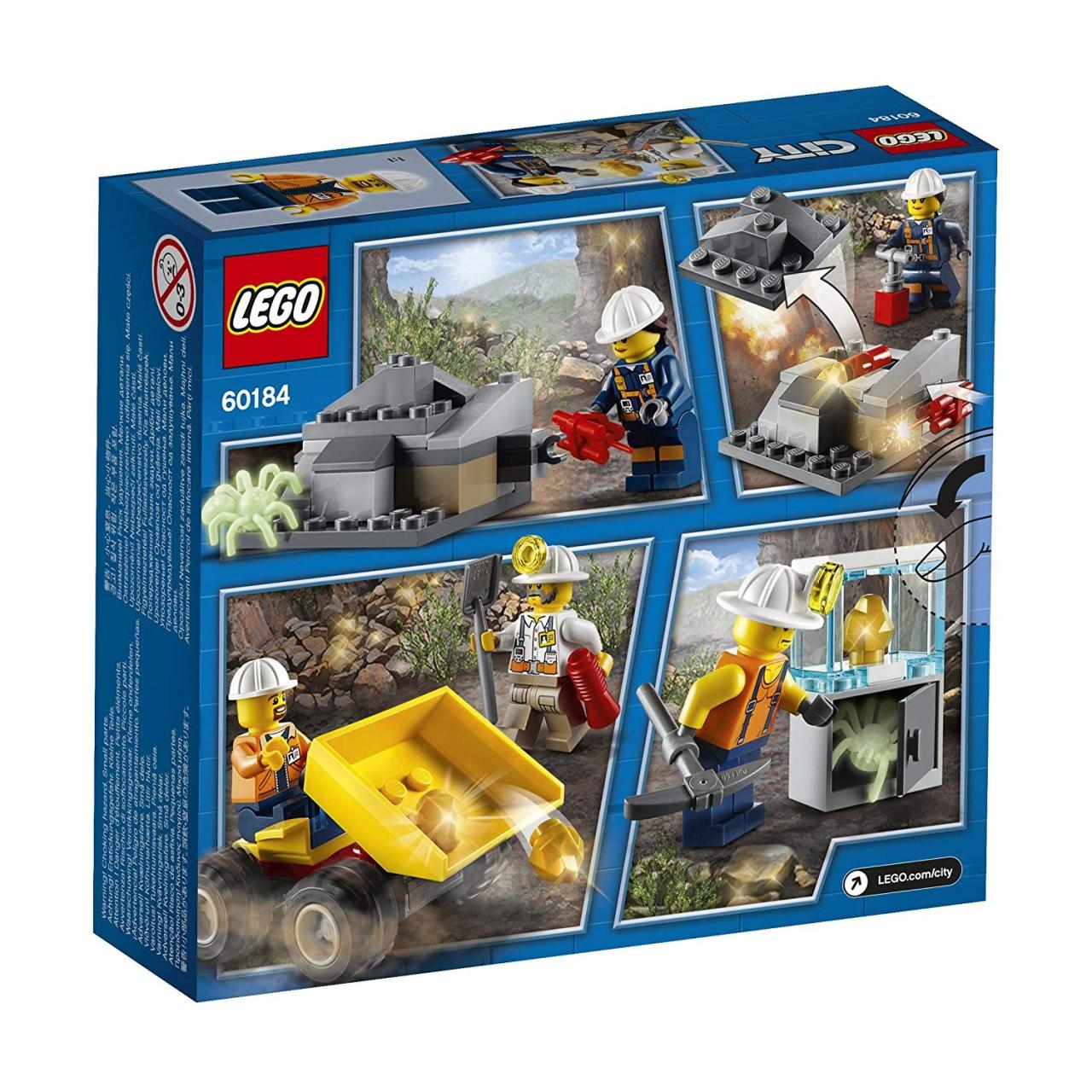 LEGO CITY 60184 Bergbauteam