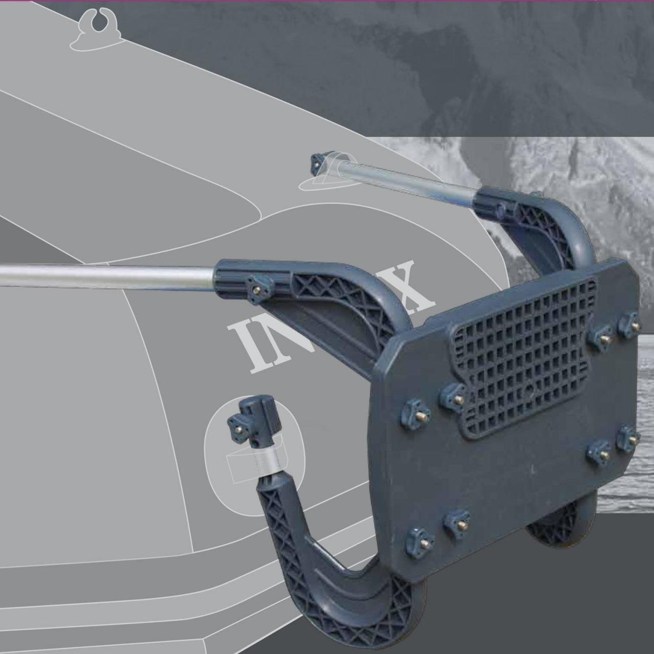 Intex Außenbordmotorbefestigung Heckspiegel Motorhalterung Elektromotor 68624