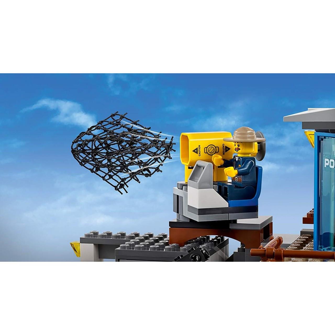 LEGO CITY 60174 Bergpolizei Hauptquartier