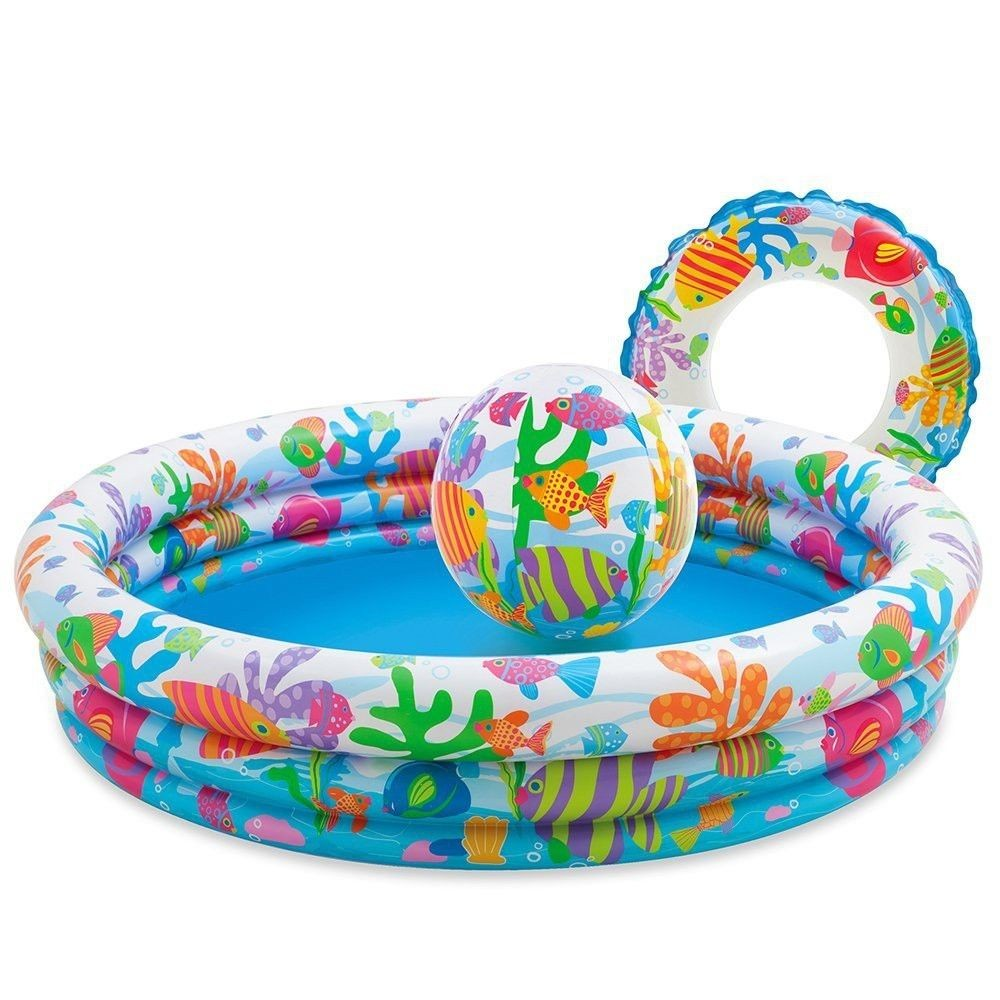 Intex 59469NP - 3-Ring-Pool-Set - Fishbowl