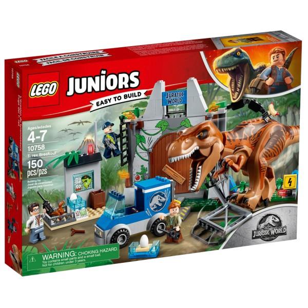 LEGO JUNIORS 10758 Ausbruch des Tyrannosaurus Rex