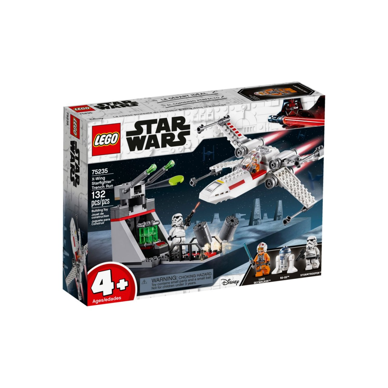LEGO STAR WARS 75235 X-Wing Starfighter Trench Run