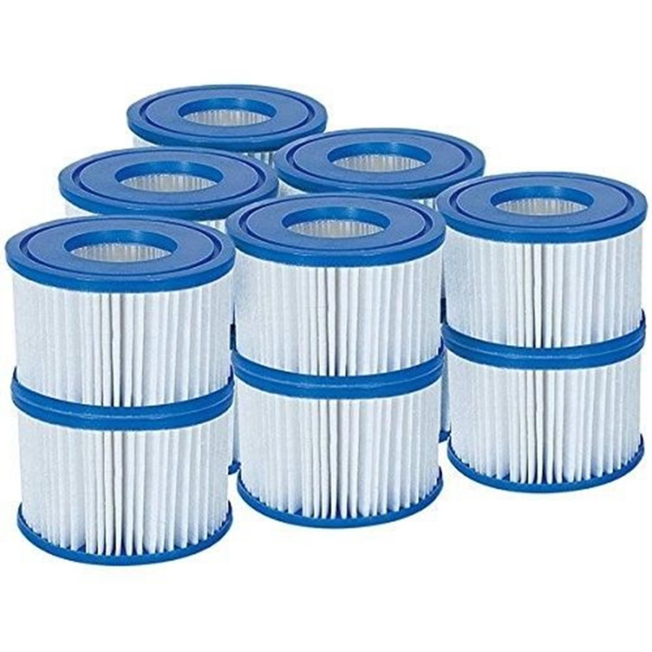 Bestway Filter Cartridge VI für Miami, Vegas, Monaco Lay-Z-Spa 58323 12 Stück