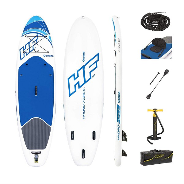 Bestway Hydro-Force SUP-Board aufblasbares Stand Up Paddelboard Oceana 65303
