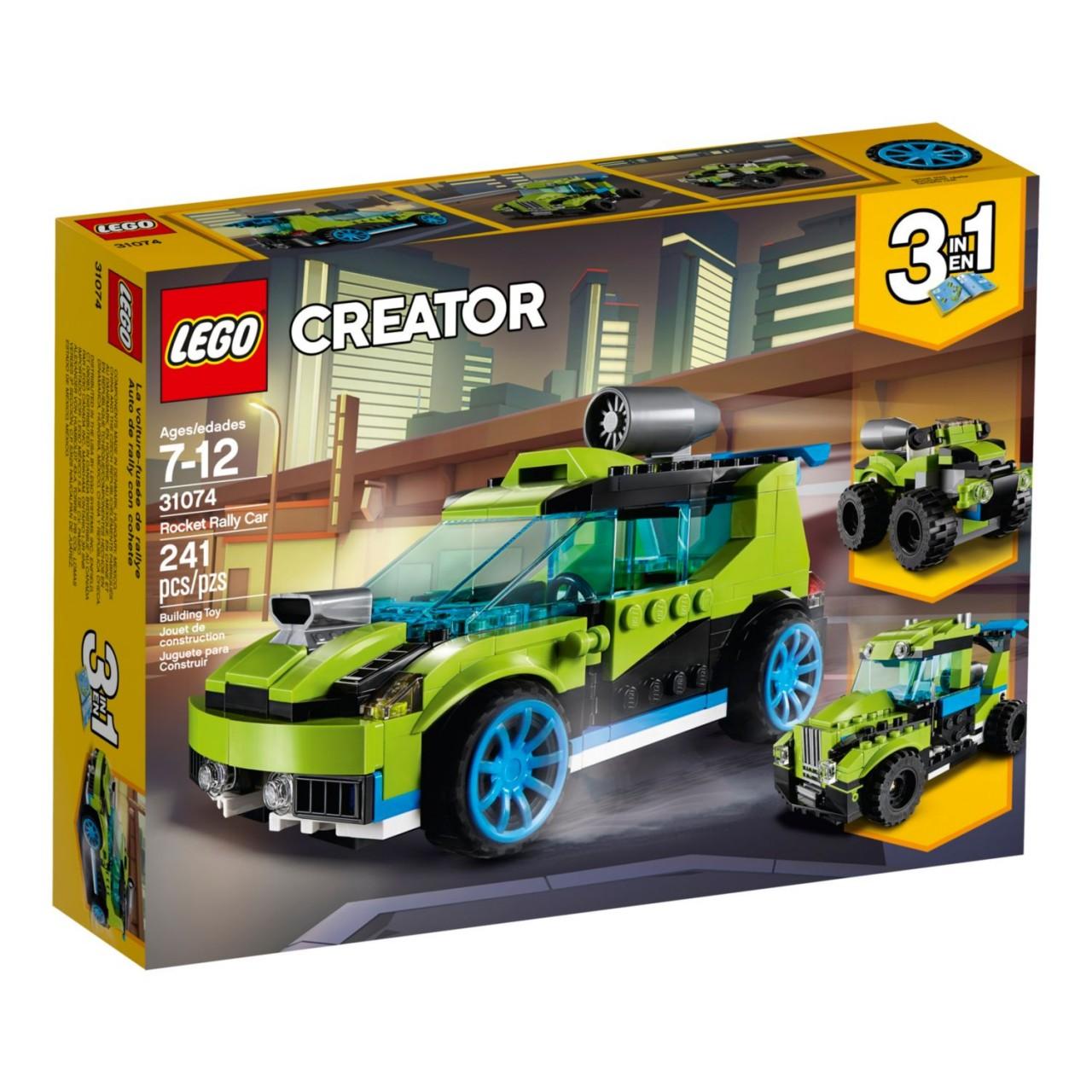LEGO CREATOR 31074 Raketen-Rallyeflitzer