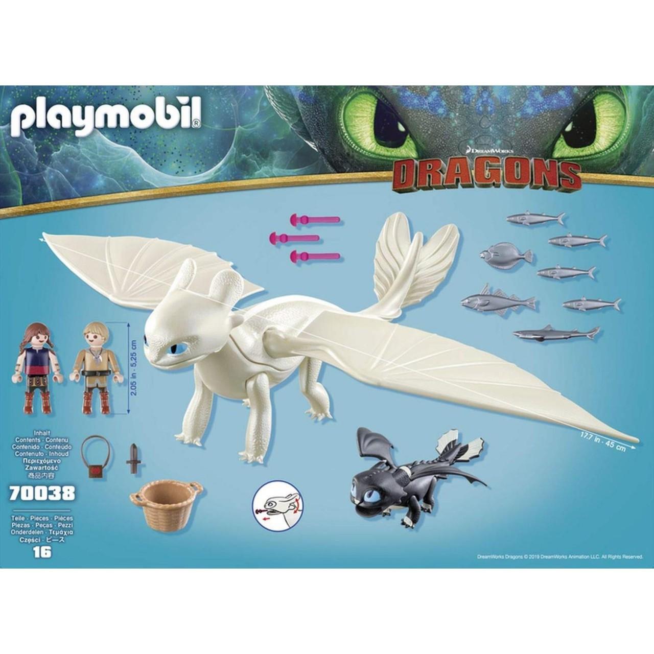 Playmobil 70038 Tagschatten und Babydrachen mit Kindern