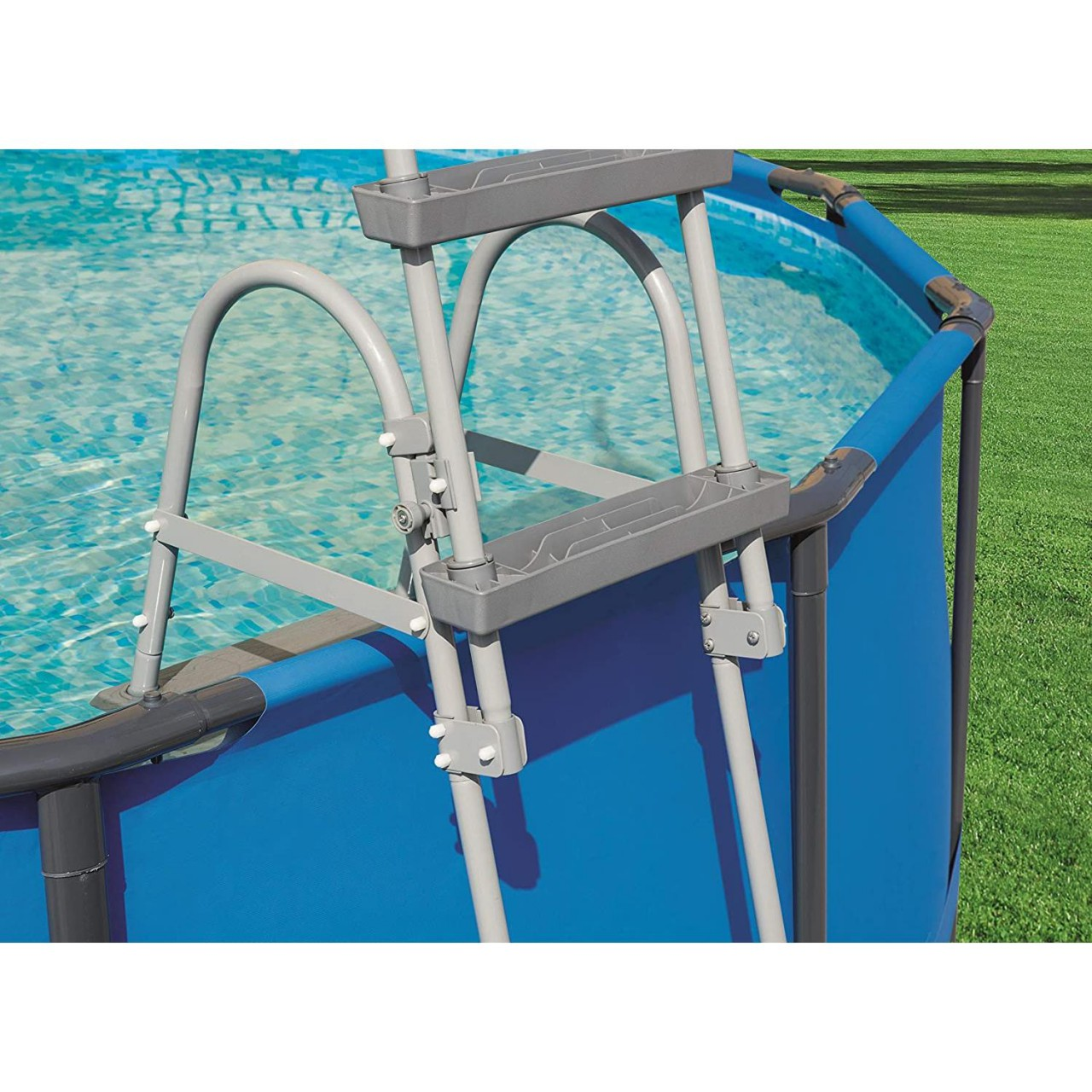 Bestway Poolleiter Sicherheitsleiter Einstiegsleiter 107cm Leiter Pool 58330