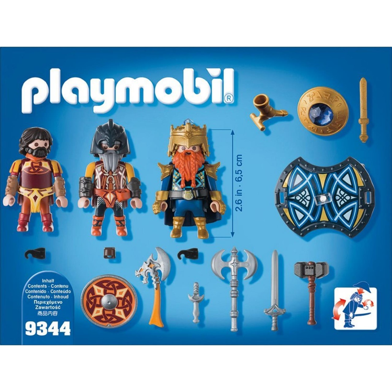 Playmobil 9344 Zwergenkönig