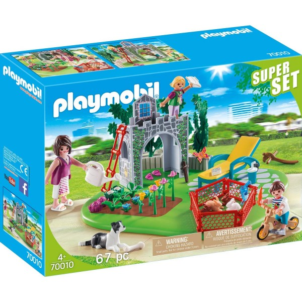Playmobil 70010 SuperSet Familiengarten