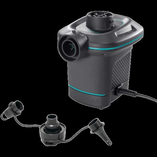 Intex Quick-Fill Elektrische Pumpe 3 Aufsätze Aufblas- und Abflussfunktion 66640