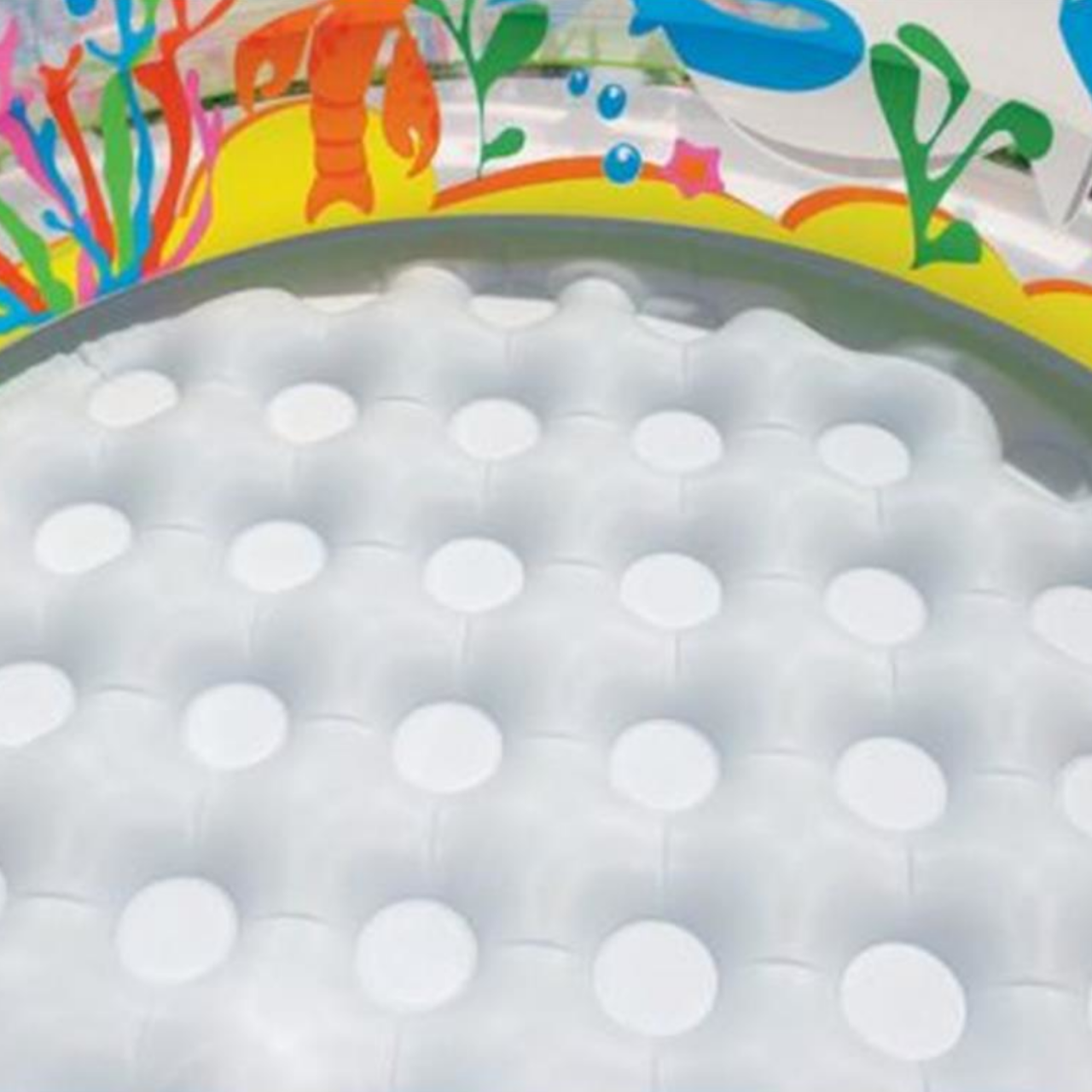 Intex Aquarium Pool, mehrfarbig, 152x152x56 cm, 58480NP
