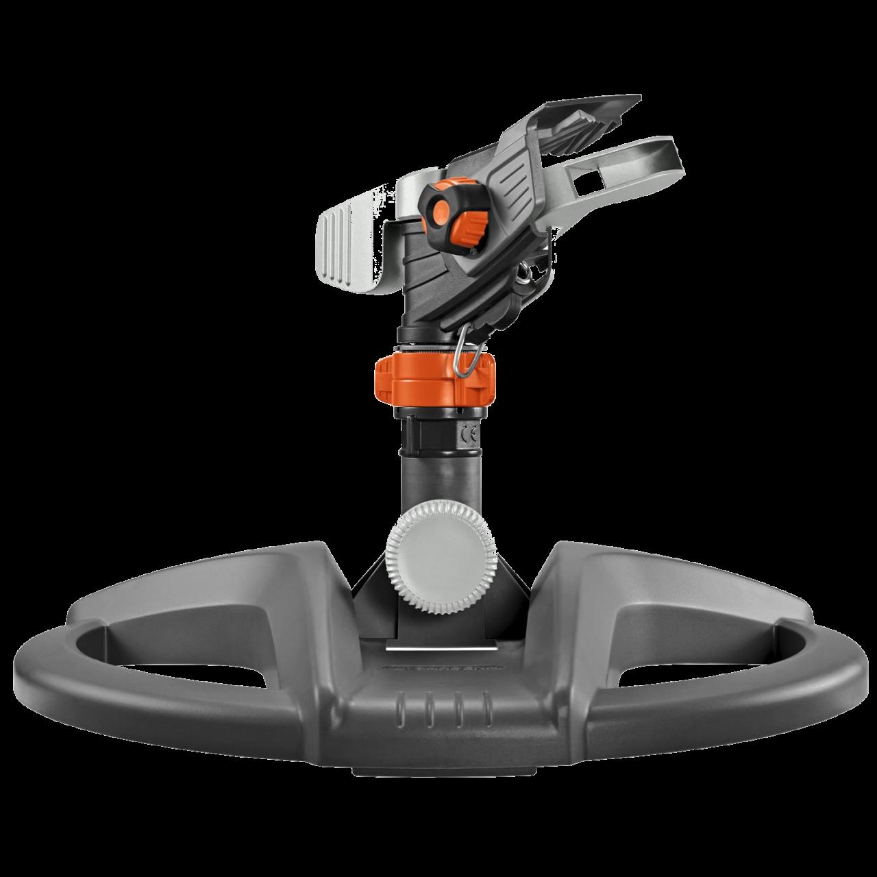 Gardena 8135-20 Premium Impuls-, Kreis- und Sektorenregner mit Schlitten 490m²