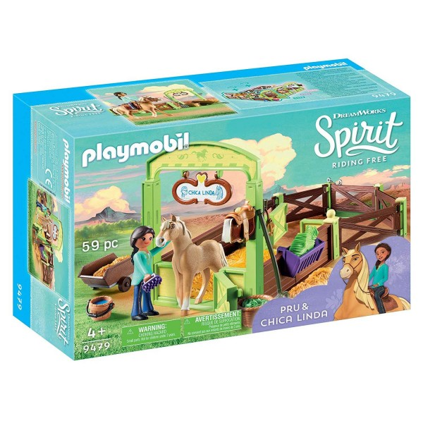 "Playmobil 9479 Pferdebox ""Pru & Chica Linda"""