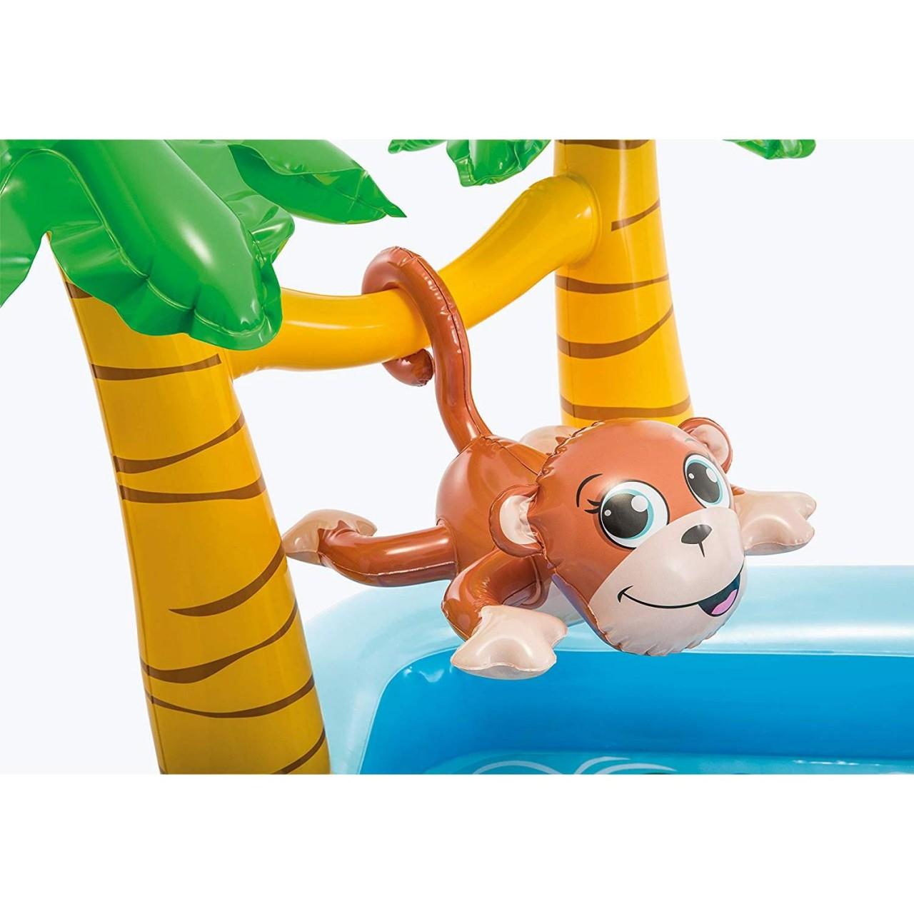 Intex Play Center Jungle Adventure Planschbecken Pool Wasserrutsche aufblasbar
