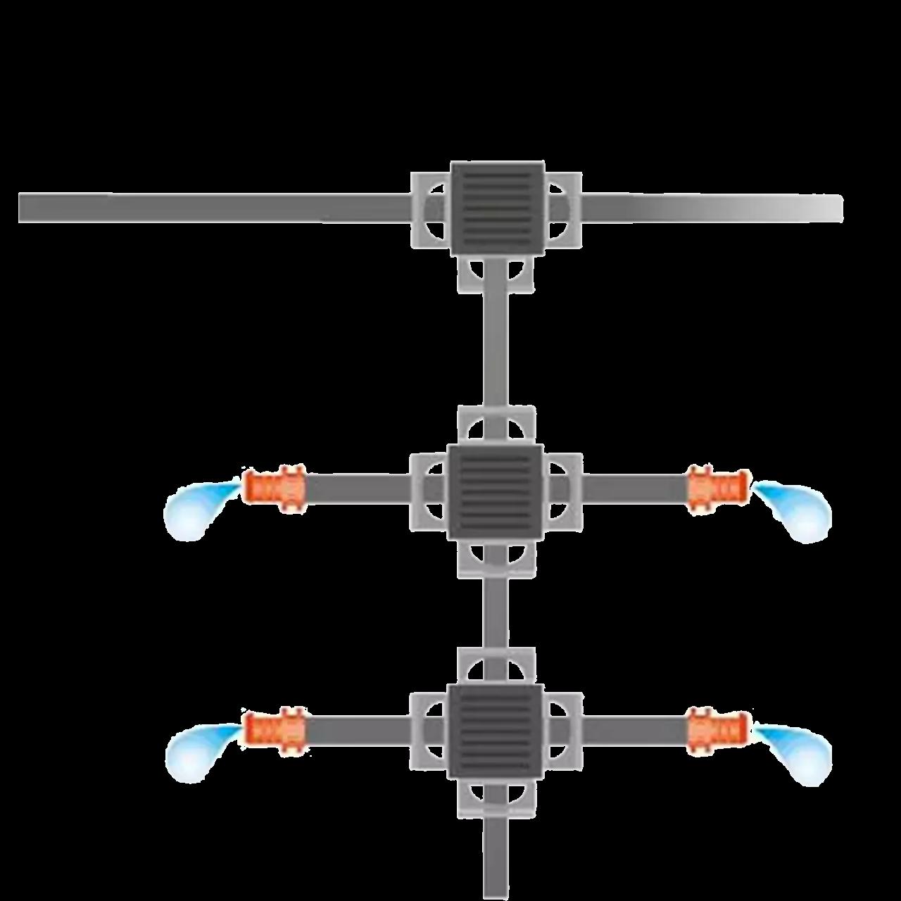 """Gardena 1348-20 Micro-Drip-System Verteilerrohr 4,6mm (3/16""""), 50m Rolle"""