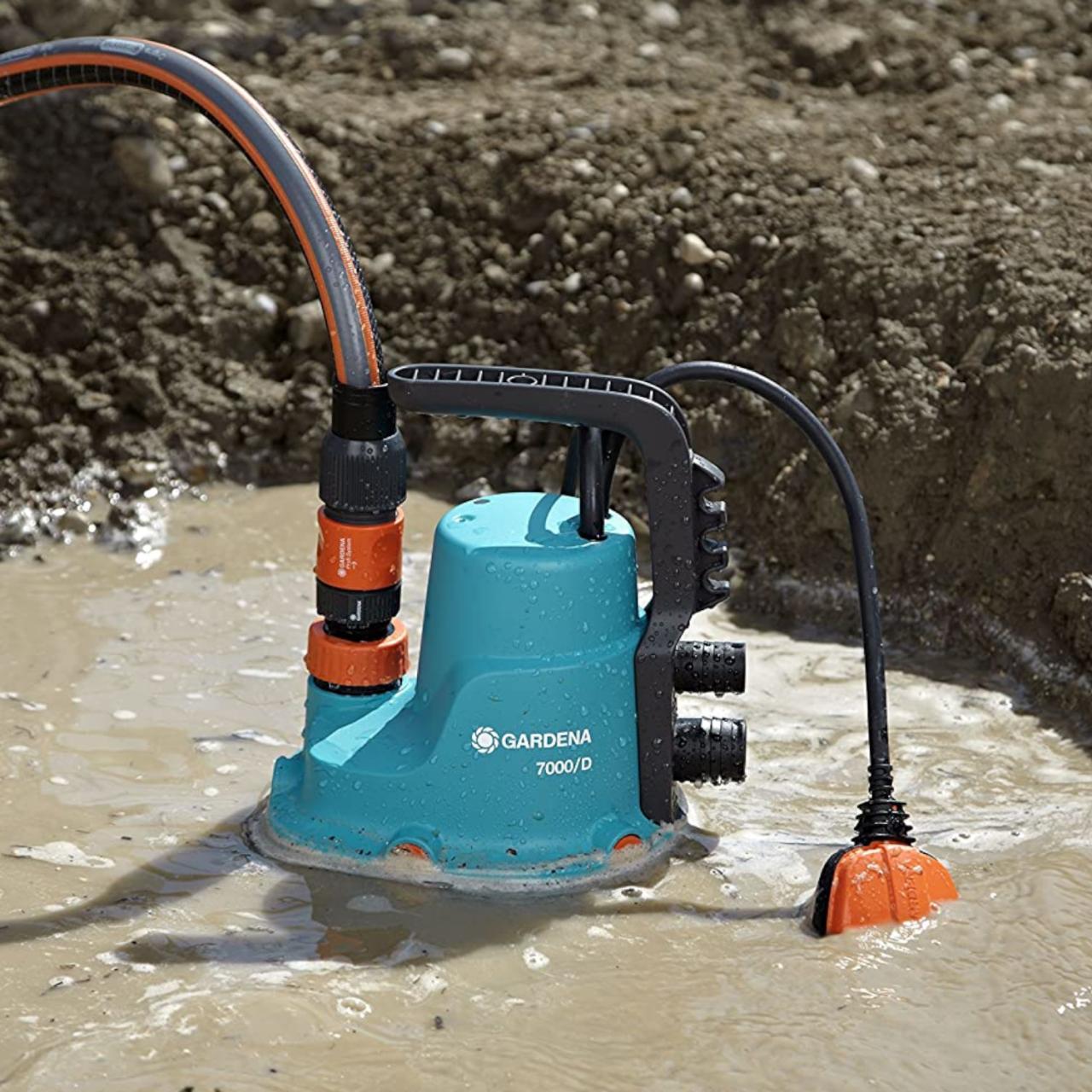 Gardena Schmutzwasser-Tauchpumpe 7000/D 1665-20 Schmutzwasserpumpe Pumpe
