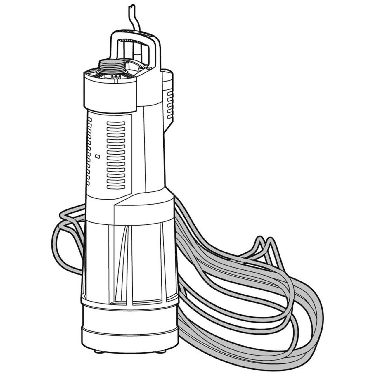 Gardena Tauch-Druckpumpe 6000/5 1476-20 Pumpe automatisch Gartenbewässerung