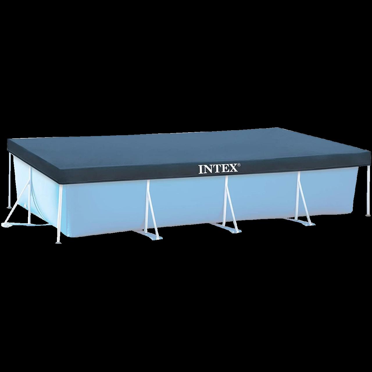 Intex Abdeckplane 450x220cm Frame Pool Poolplane Cover Poolabdeckung 28039