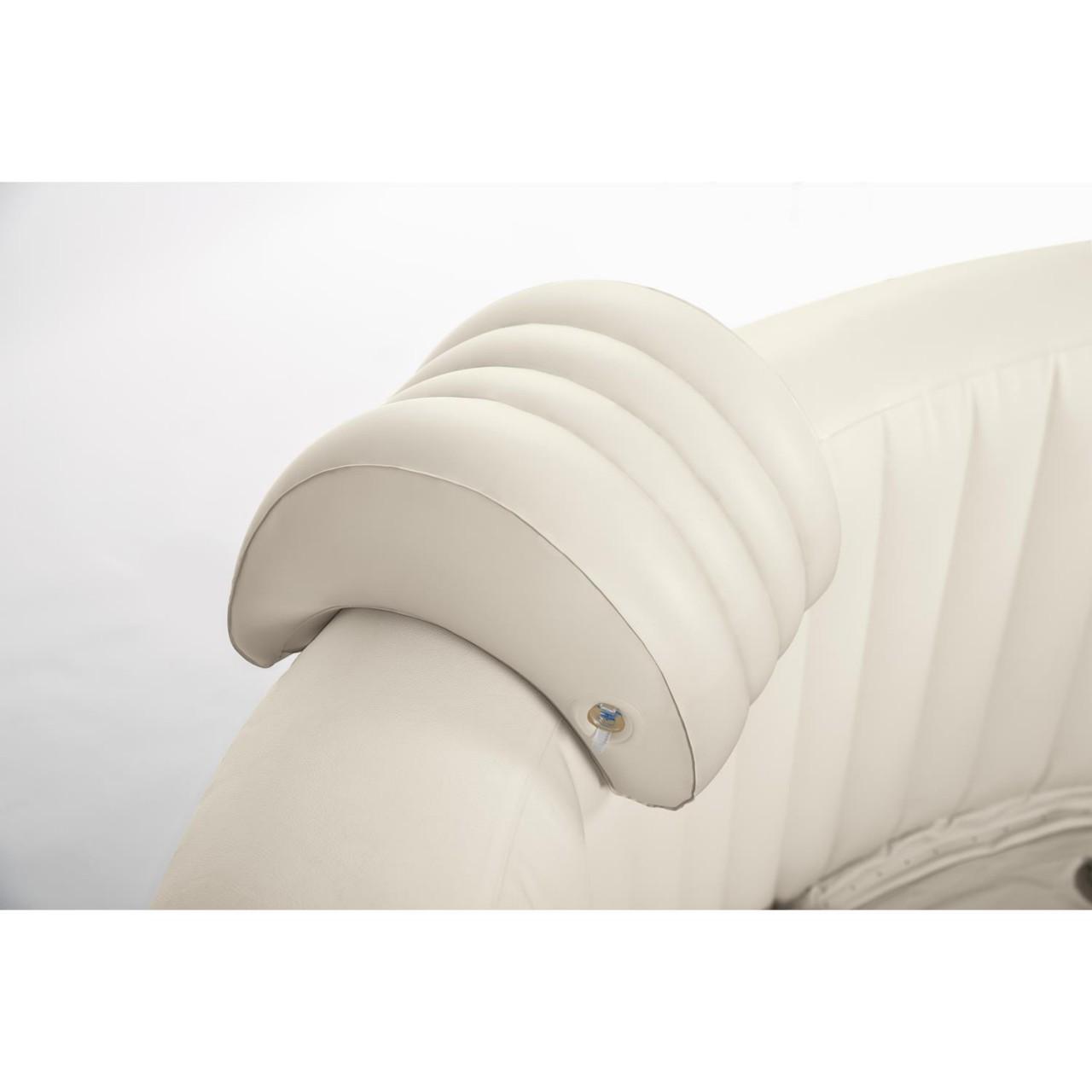 Intex Whirlpoolzubehör Aufblasbare Kopfstütze für Pure SPA, beige, 29 x 30 x 23 cm