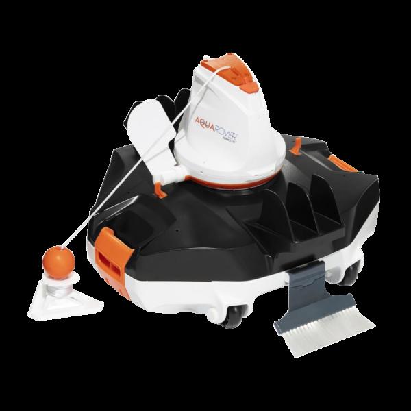 Bestway 58622 Flowclear akkubetriebener Poolsauger AquaRover Roboter Bodensauger