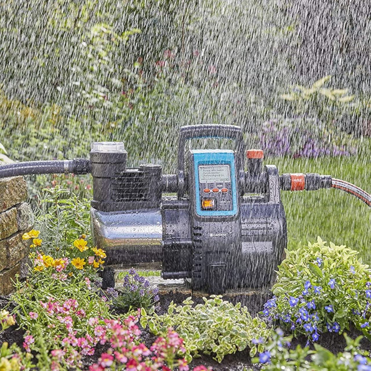 Gardena 1760-20 Haus- & Gartenautomat 6000/6 LCD Gartenbewässerung Pumpe 6000l/h