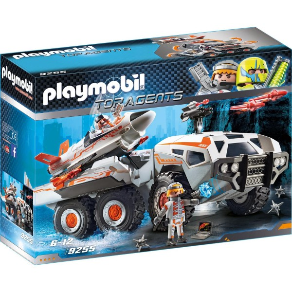 Playmobil 9255 Spy Team Battle Truck