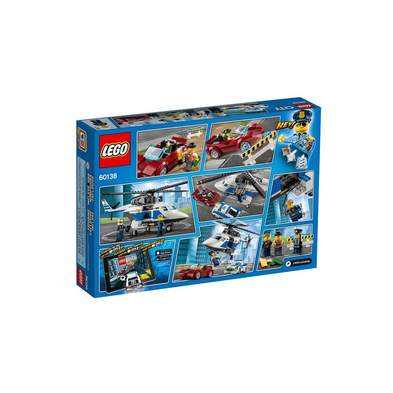 LEGO CITY 60138 Rasante Verfolgungsjagd
