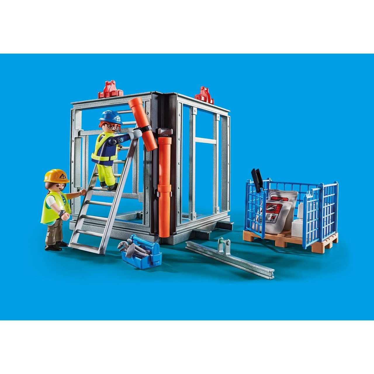 Playmobil 70441 RC-Baukran mit Bauteil