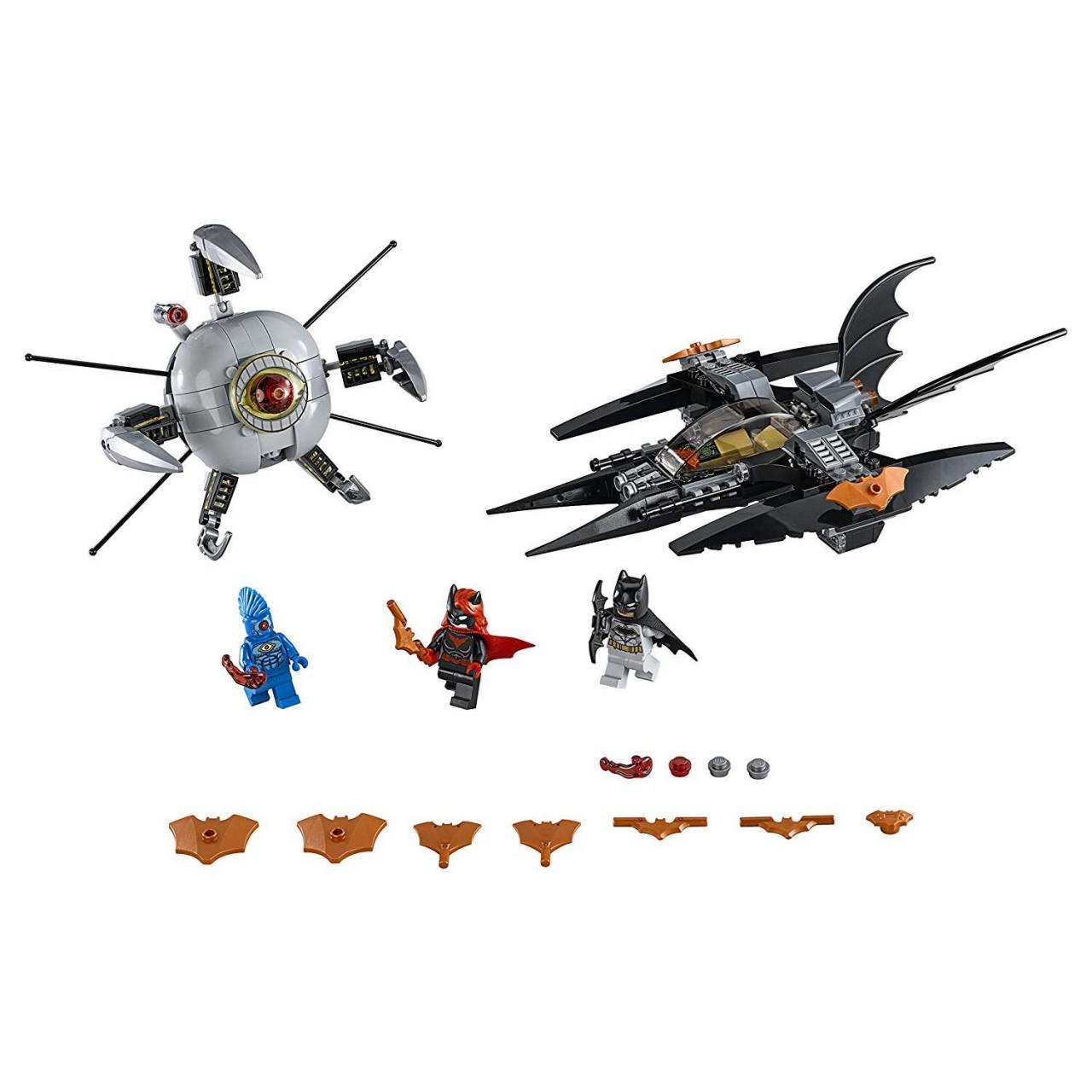 LEGO DC SUPER HEROES 76111 Batman: Brother Eye Gefangennahme