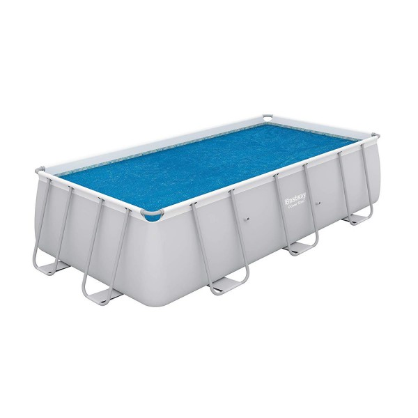 Bestway 58240 Flowclear Solarabdeckplane Power Steel Pools 404x201x100cm + 412x201x122cm