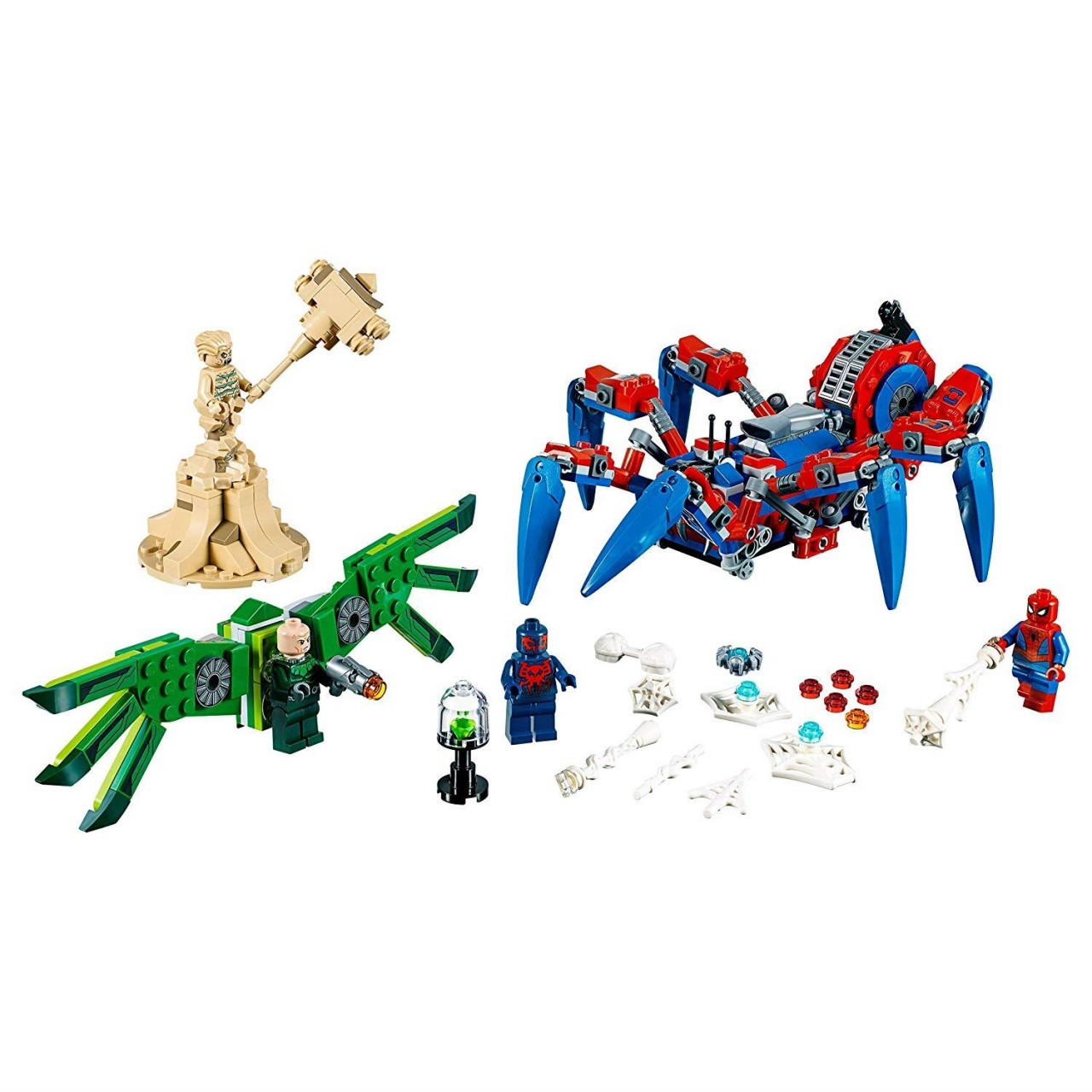 LEGO MARVEL SUPER HEROES 76114 Spider Mans Spinnenkrabbler
