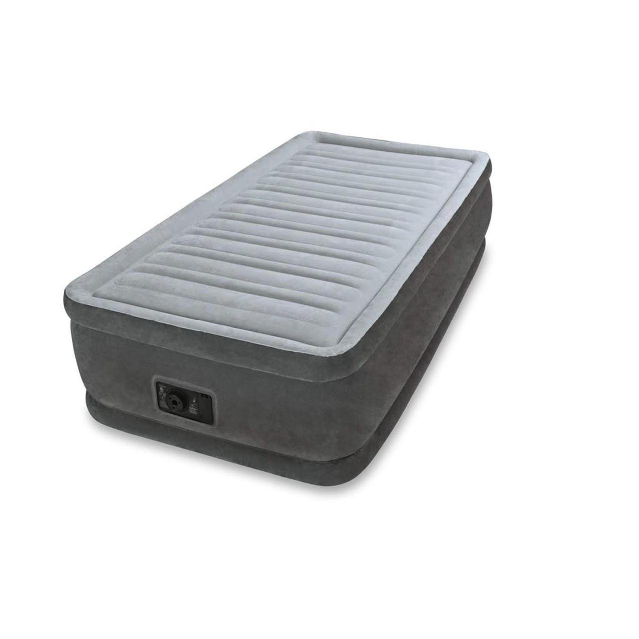 Intex Luftbett mit Pumpe Gästebett Luftmatratze 191x99x46 cm selbstaufblasend