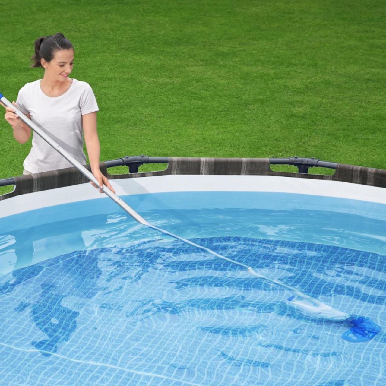 Bestway 58624 Flowclear Akku-Poolsauger AquaReach Wiederaufladbar Pool bis 610cm