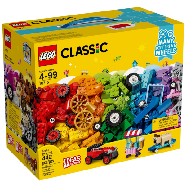 LEGO CLASSIC 10715 Kreativ-Bauset Fahrzeuge