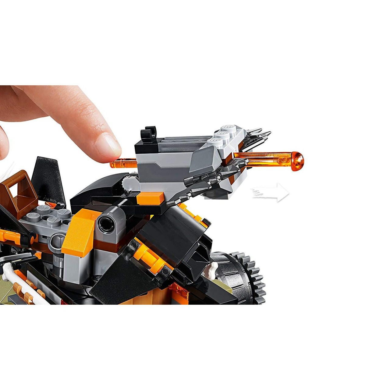 LEGO NINJAGO 70654 Drachen-Fänger