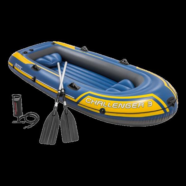 Intex Schlauchboot Challenger Boot 295x137x43 cm  für drei Personen 68370