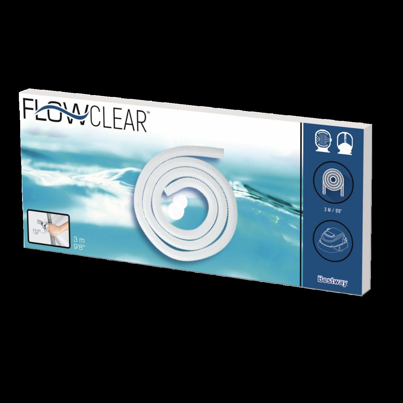 Bestway 58369 Flowclear Universal 32mm Poolschlauch 300cm