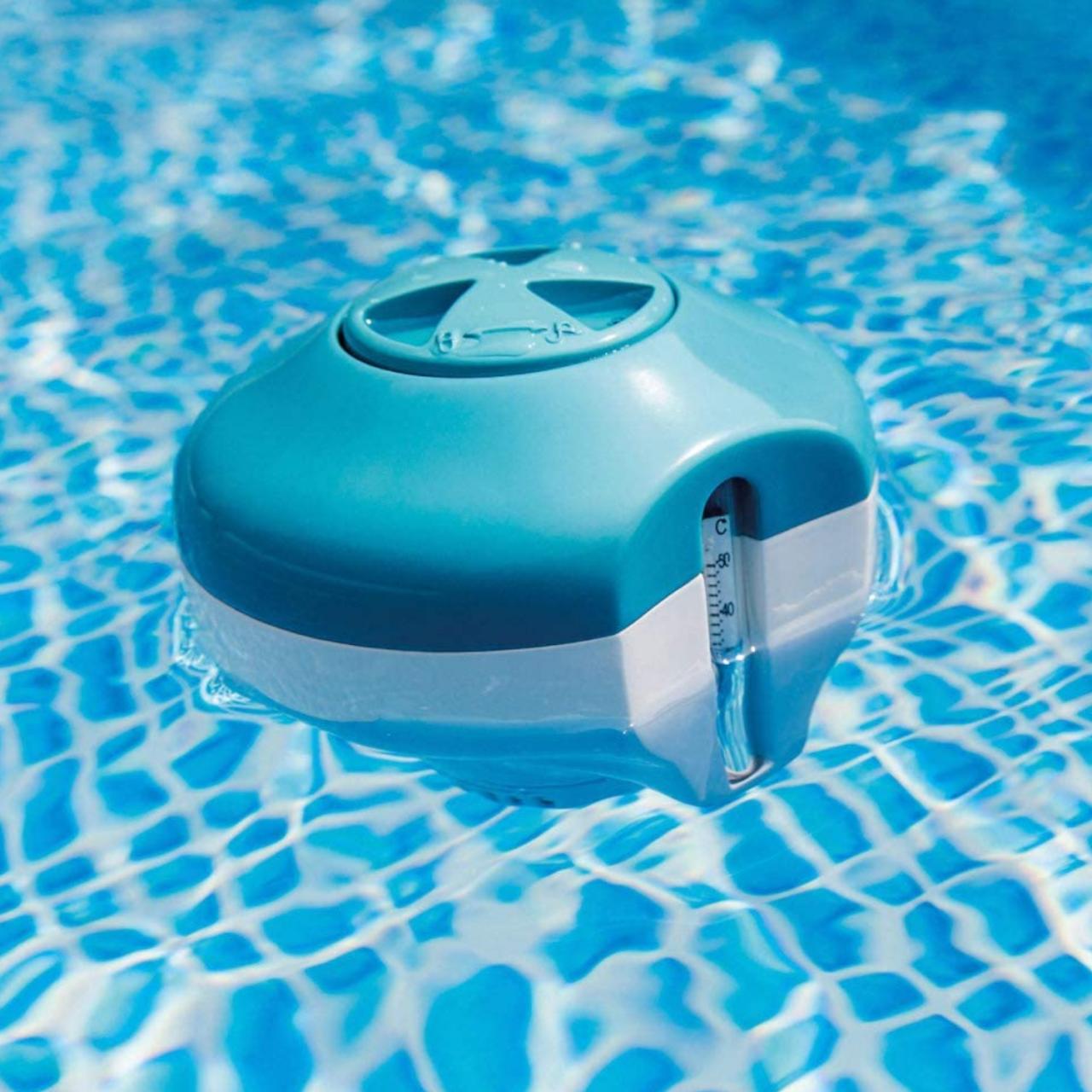 Intex 29043 Schwimmender Chlorinator mit Thermometer