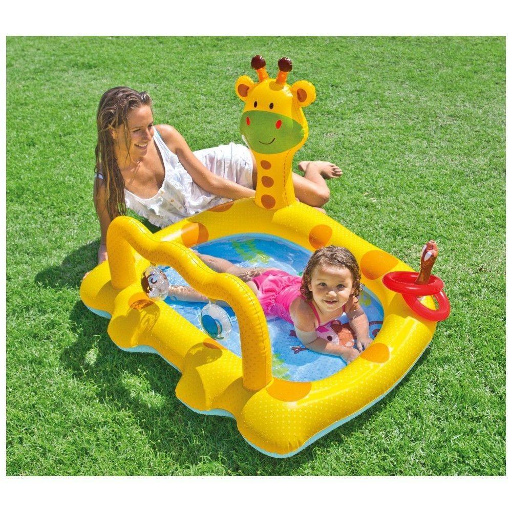 Intex 57105 Planschbecken Giraffe Playcenter Pool