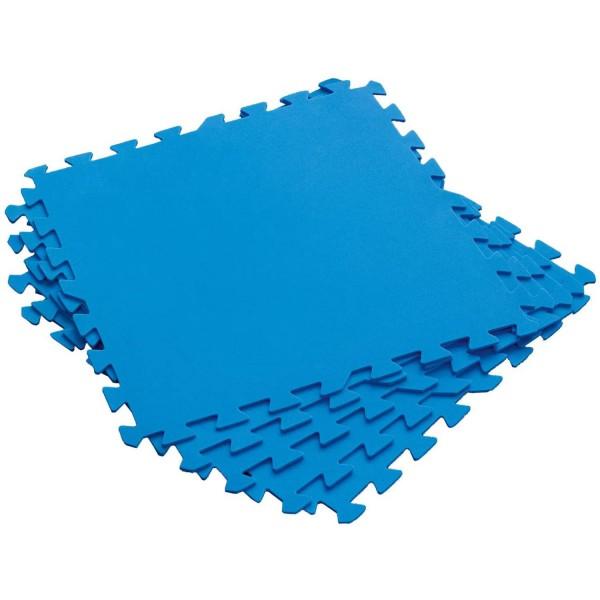 Bestway 58220 Flowclear™ Pool-Bodenschutzfliesen-Set blau, 8 Stück á 50 x 50 cm