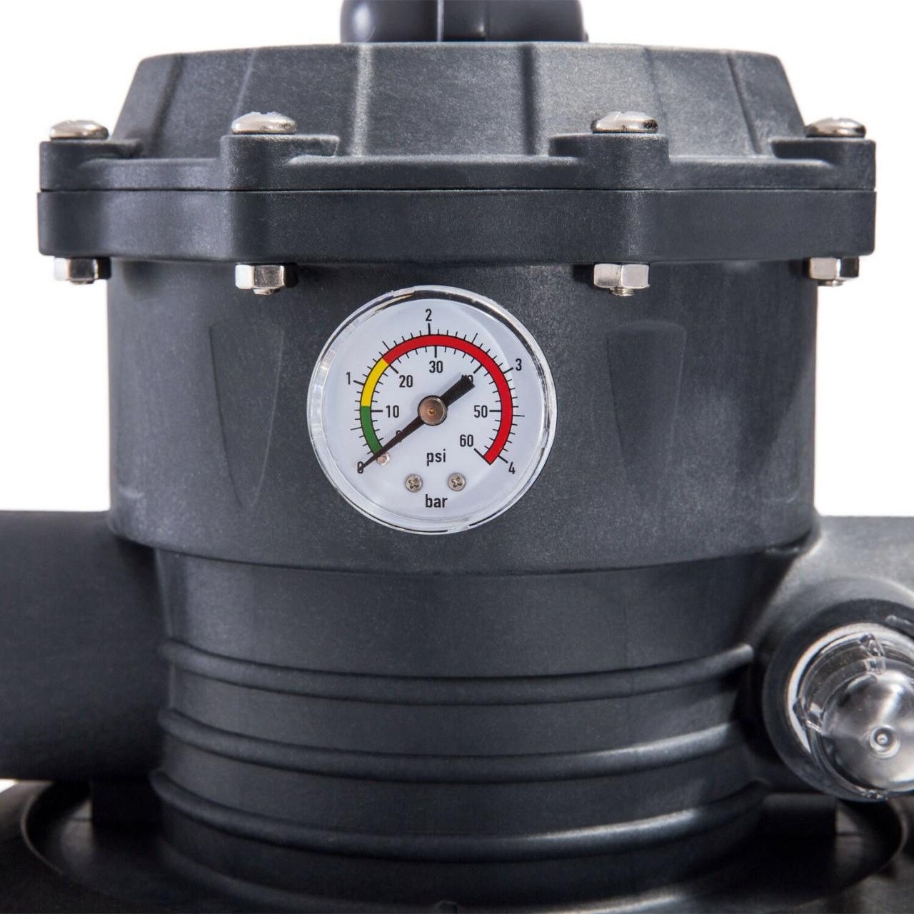 Intex 26644 Sandfilteranlage 4m³/h Filterpumpe 4000 l/h Filterkessel für Pool