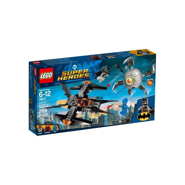 LEGO DC SUPER HEROES 76111 Batman: Brother Eye Gefangennahme