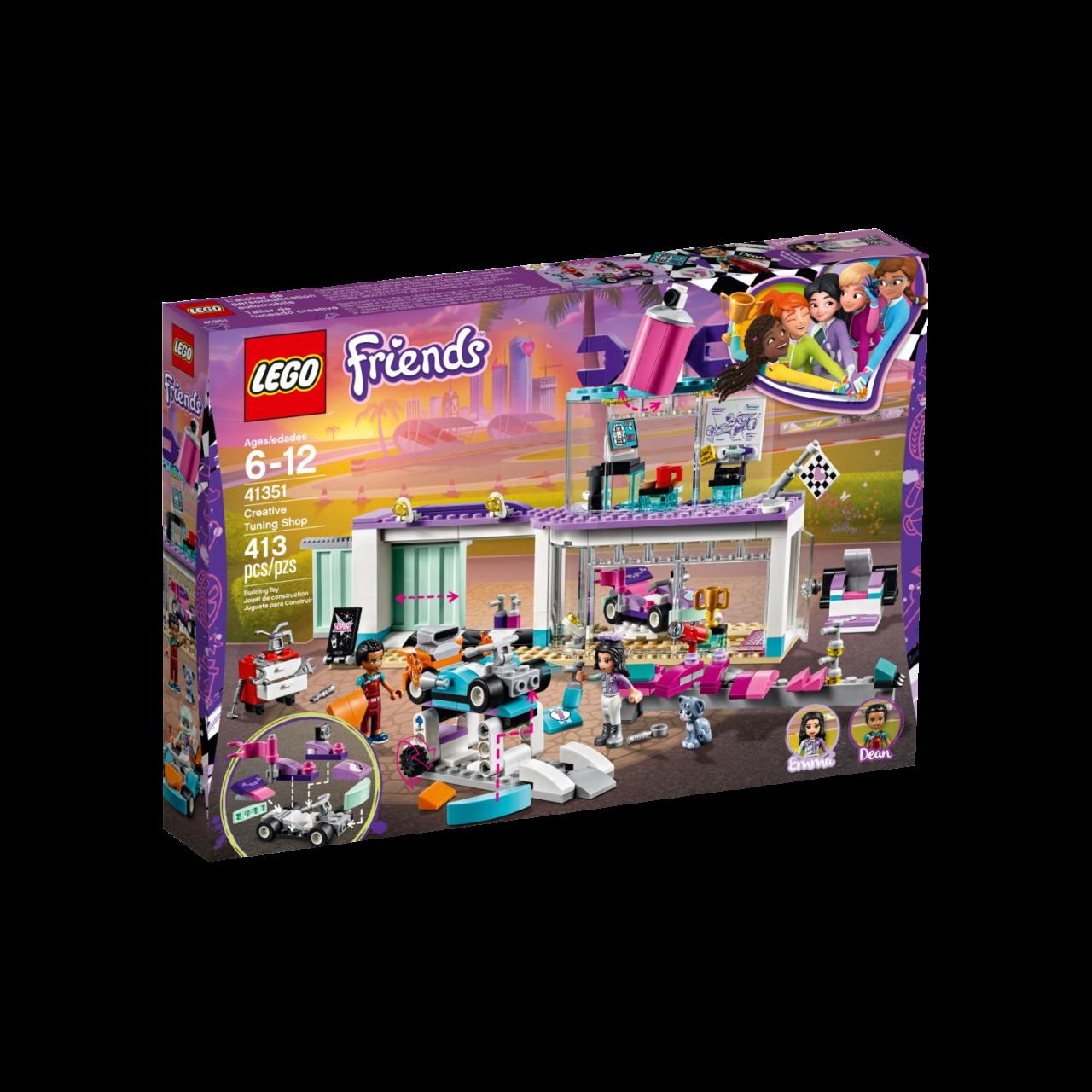 LEGO FRIENDS 41351 Tuning-Werkstatt