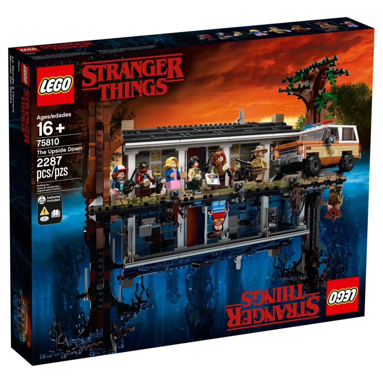 LEGO STRANGER THINGS 75810 Die andere Seite