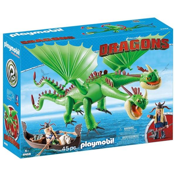 Playmobil 9458 Raffnuss und Taffnuss mit Kotz und Würg
