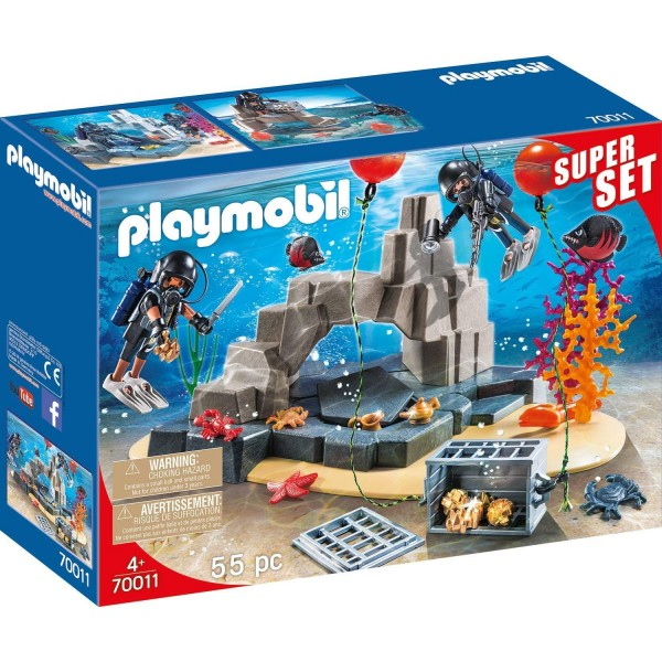 Playmobil 70011 SuperSet SEK-Taucheinsatz