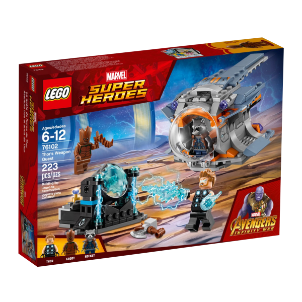 LEGO MARVEL SUPER HEROES 76102 Thors Waffenmission